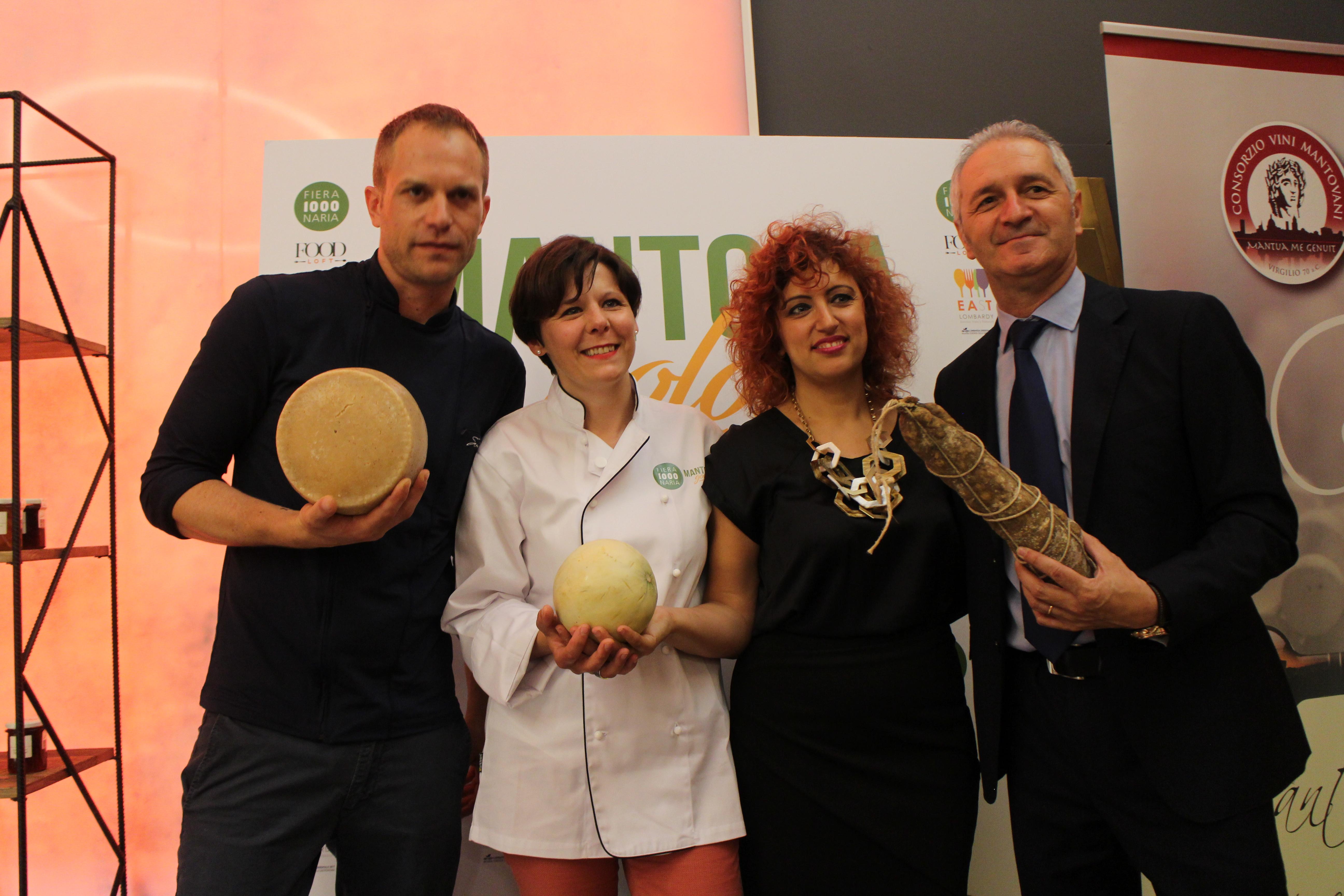 MILANO: IN ANTEPRIMA AL FOODLOFT, L'ECCELLENZA MANTOVANA